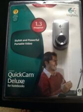 Logitech QuickCam Deluxe for Notebooks 1.3 Megapixel Webcam New in Package