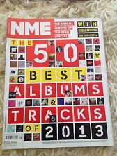 NME THE 50 BEST ALBUMS & TRACKS OF 2013 DECEMBER 2013 VERY GOOD CONDITION