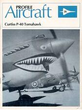 AIRCRAFT PROFILE 35 WH WW2 CURTISS P-40 FG USAAF TOMAHAWK RAF RCAF RAAF SAAF AVG