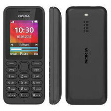 NEW GENUINE NOKIA 130 SIM FREE UNLOCKED BASIC MOBILE PHONE IN BLACK A00023261