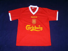 Trikot T-Shirt Liverpool Carlsberg Reebok HESKEY 8 Made in U.S.A XS Fussball