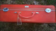 VINTAGE LARGE AMELIA EARHART RED SUITCASE 1960'S