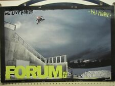 FORUM SNOWBOARDS 2013 PAT MOORE promo BIG poster ~NEW~!