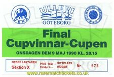 reproduction 1990 SAMPDORIA ANDERLECHT cup winners cup final ticket [RMT]