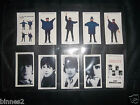THE BEATLES HELP! WARUS LIMITED EDITION TRADING CARDS FULL SET TEN IN WALLET FAB