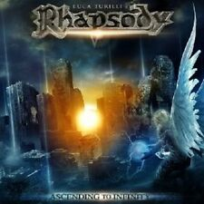 Luca Turilli 's Rhapsody-Ascending to Infinity CD power metal 9 tracks ++++ nuevo