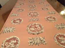 American Art Deco wallpaper Straham Cameo pattern 1940s Gio Ponti style