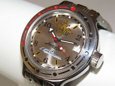 Man's Fashion VOSTOK Russian military Amphibian diver 200m. auto watch VA#420392