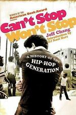 Cant Stop Wont Stop By Chang, Jeff/ Herc, DJ Kool (ILT)