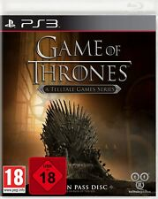 Ps3 Game of Thrones A TELLTALE GAMES SERIES NUOVO & SCATOLA ORIGINALE PLAYSTATION 3 pacco postale