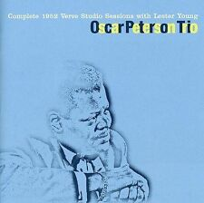 Complete 1952 Sessions Lester Young Oscar Peterson Trio jazz CD Barney Kessel
