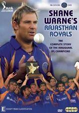 Shane Warne's IPL Rajasthan Royals (DVD, 2009, 4-Disc Set)