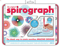 the Original SPIROGRAPH Kids 15 piece craft drawing design set tin  - AS NEW