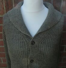 Ralph Lauren Polo Shawl Cardigan 84% Linen Mix. RRP £405.00