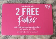VICTORIA'S SECRET 2 Panties With A Purchase