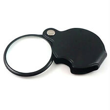 Pocket Mini 5X50mm Folding Jewelry Magnifier Magnifying Eye Glass Loupe EWUK