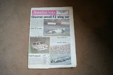 Motoring News 2 November 1978 F1 GP Review Bandama Rally Chevron John Watson