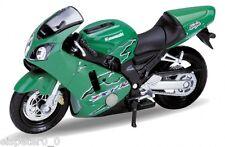 `01 Kawasaki Ninja ZX-12R, Welly Motocicleta Modelo 1:18, Nuevo, EMB.ORIG