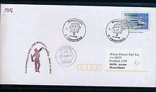 59696) Austrian Arrows WIPA SF Wien - Leipzig 21.9.2008, GAU ab Frankreich