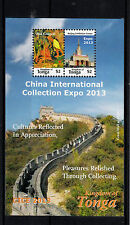 Tonga 2013 MNH China Int Collection Expo CICE 2v S/S Paul Gaugin Beijing