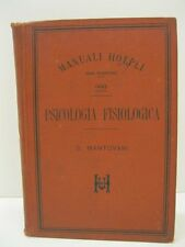 MANTOVANI Giuseppe, Psicologia fisiologica