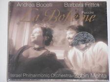 Andrea Bocelli, B. Frittoli, Puccini, Zubin Mehta -La Boheme- 2xCD BOX  NEU