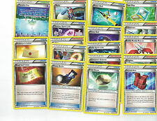Complete Breakthrough Trainer Card Lot Pokemon Trading  Free shipping CANADA
