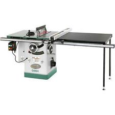 """G0691 Grizzly 10"""" 3HP 220V Cabinet Table Saw with Long Rails & Riving Knife"""