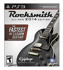 NEW Rocksmith 2014 Edition Cable Included (Sony PlayStation 3, 2014)