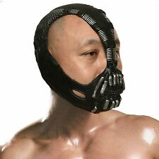 Batman cosplay Dark Knight Cosplay Bane Mask Maschera Halloween Festa Costume