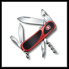 NEW VICTORINOX & WENGER SWISS ARMY KNIFE EvoGrip S101 RED/BLK#16833/2.3603.SCUS2