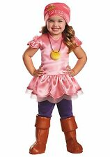 NEW JAKE & THE NEVERLAND PIRATES IZZY TODDLER HALLOWEEN COSTUME 2T SMALL