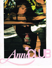 PUBLICITE ADVERTISING 074  1988  ANNA CLUB   maillots de bain