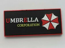 Resident Evil Umberlla LOGO PVC 3D Rubber Velcro Patch SK  181