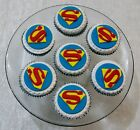 SUPER HEROES* CUP CAKE TOPPERS X 12 ON DISC - PICK YOUR OWN MIX OF CHARACTERS
