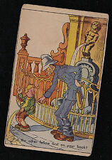 Vintage Antique Postcard Put the Other Fellow First on Your Book - Unused