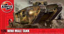 Airfix 1-76 seires 1 - WWI Male Tank Mk.I (A01315)