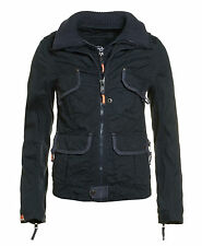 Superdry New Shirt Jacket  Charcoal Black Size Uk 8 / S