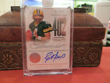 New listing Panini Flawless Autograph Benchmarks Auto Packers Brett Favre  19/25   2014