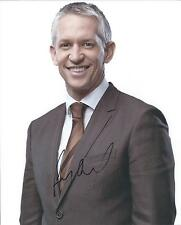 Gary Lineker autograph - signed photo England footballer MOTD