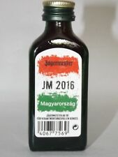 Jägermeister mini flaschen  EM 2016 JM Ungarn Sonderedition 0,02 ml 35% vol