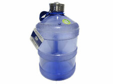 1 Gallon Round BPA Free Reusable Plastic Water Bottle Drinking Container