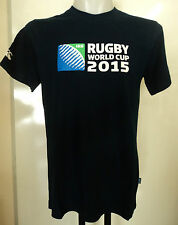 RUGBY WORLD CUP 2015  NAVY LOGO TEE SHIRT BY CANTERBURY SIZE MEDIUM BRAND NEW