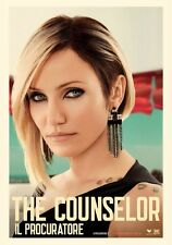 POSTER THE COUNSELOR IL PROCURATORE RIDLEY SCOTT BRAD PITT CAMERON DIAZ FILM #9