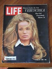 Life Magazine Bizarre Exotic 6 Feet Veruschka August 1967