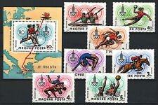 TWO IN ONE - HUNGARY 1980. OLIMPIC GAMES MOSCOW SET + SHEET GARNITURE MNH (**)