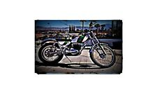 1970 Ossa Mar 250 Bike Motorcycle A4 Photo Poster