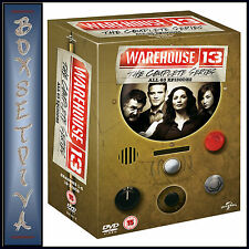 WAREHOUSE 13 - COMPLETE SEREIS SEASONS 1 2 3 4 & 5  **BRAND NEW DVD BOXSET**