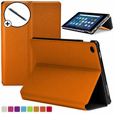 Forefront Cases® Orange Shell Smart Case Cover Amazon Fire HD 8 2016 Stylus