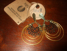 NEW Art Da Terra Lace Dangle Earrings MCY-150 Retail $26